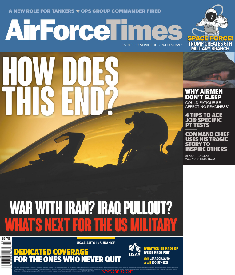 《Air Force Times》2020年1月20日